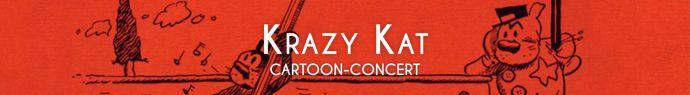 Bannière Krazy Kat - Cartoon-concert