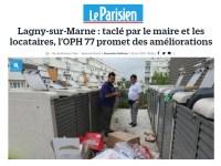 Lagny : le maire soutient les habitants d'un quartier