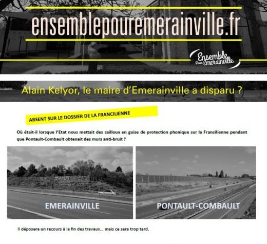 Alain Kelyor, le maire d'Emerainville a disparu ?