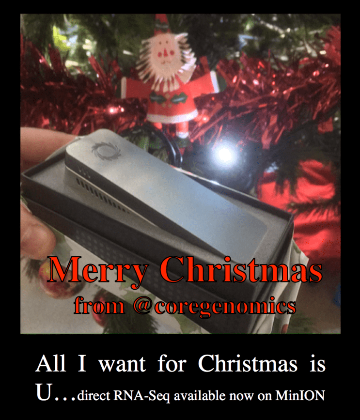 Merry Christmas from @coregenomics