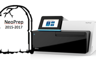NoPrep discontinued by Illumina