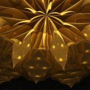 Chrysanthemum muquarnas ceiling