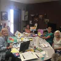 Ensight Skills offers many activities for those who suffer from low vision to lead independent lives, such as watercolor painting classes!