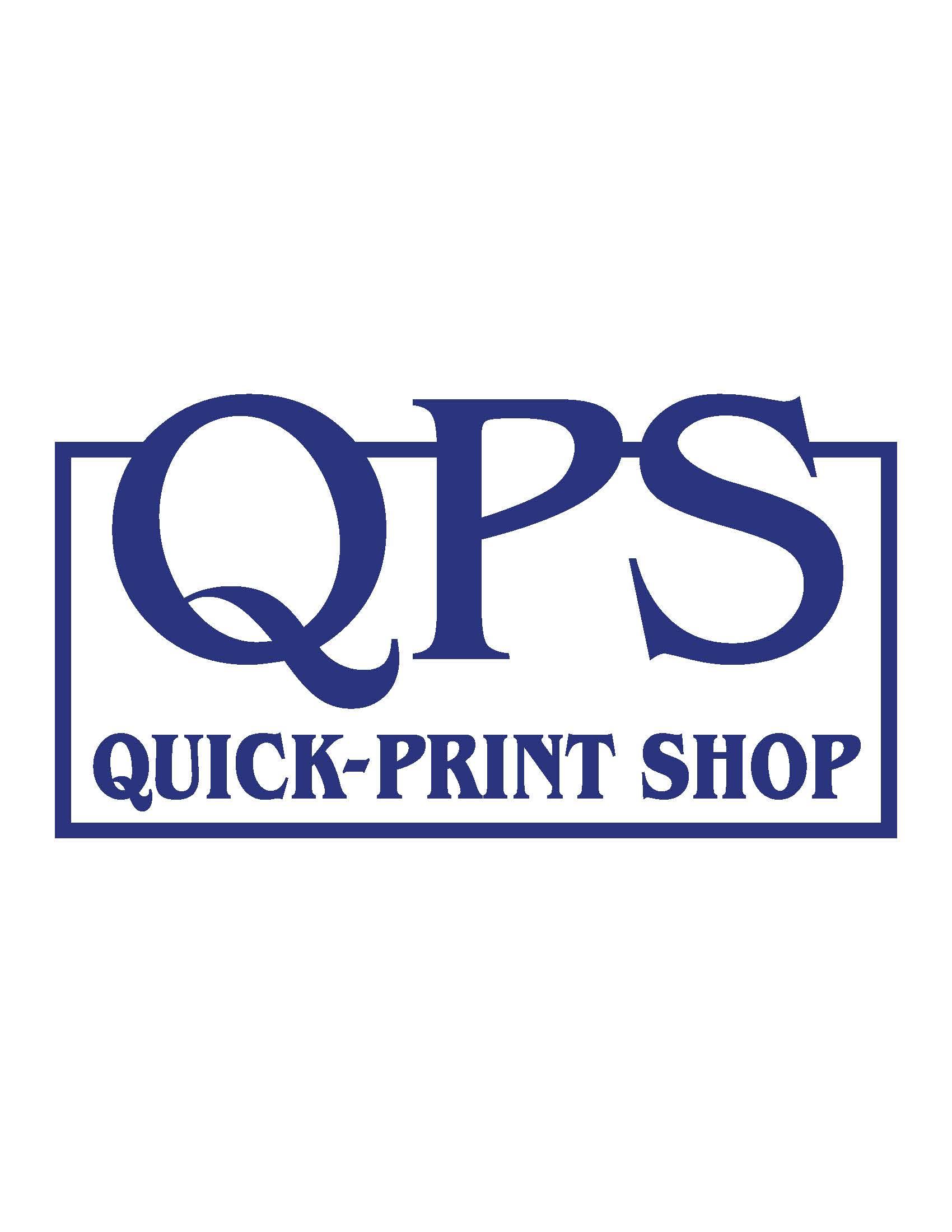Quick Print Shop 2018 Sponsor