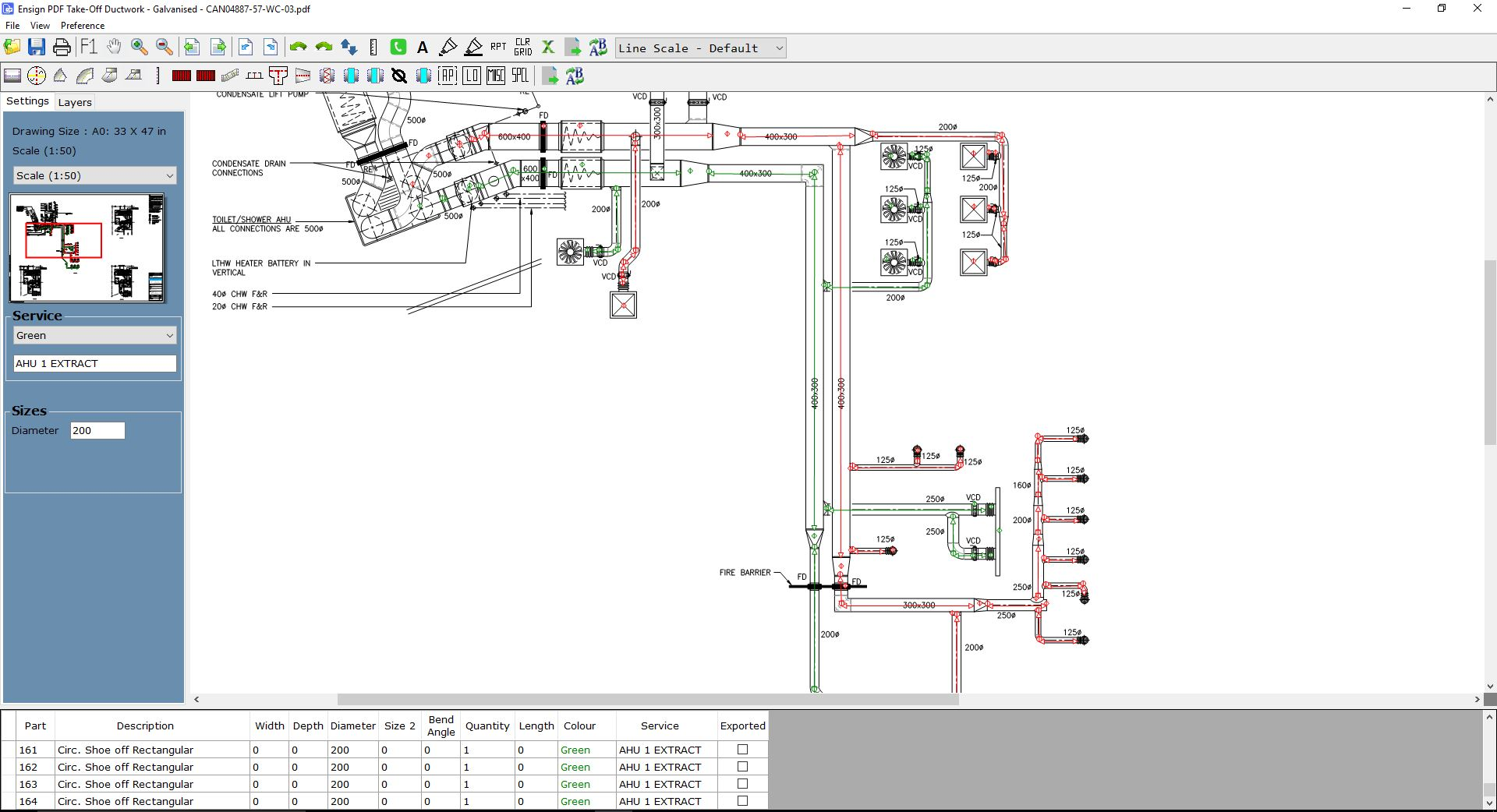 hight resolution of ducting software for hvac and ductwork by ensignon screen take off software