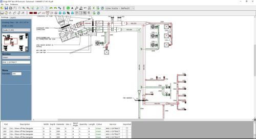 small resolution of ducting software for hvac and ductwork by ensignon screen take off software