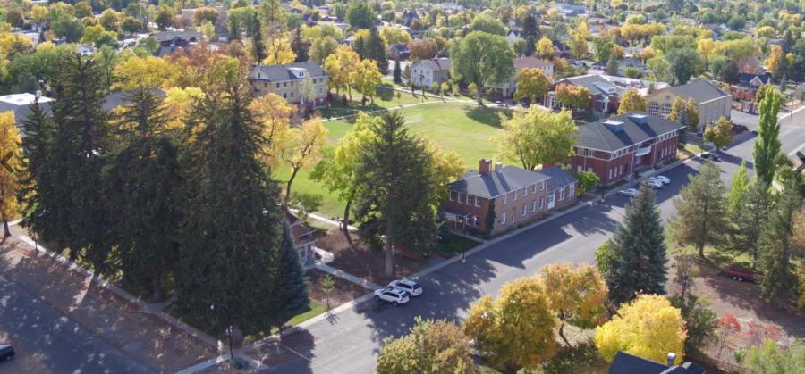 Wasatch Academy Campus View