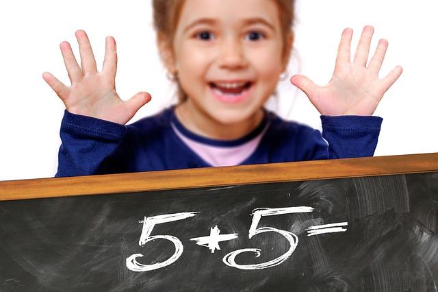 Happy Math Girl