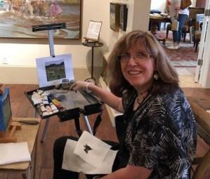 Marie at Heirloom Gallery sm