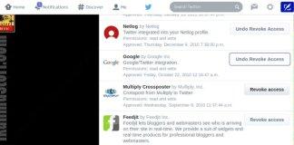 Revoke aplikasi untuk Menghilangkan Auto Retwitt & Auto Follow pada Akun Twitter
