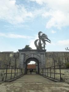 Benteng Marlborough tempat Wisata Bengkulu