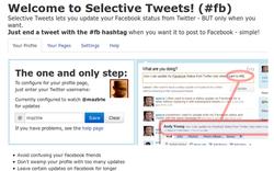 Selective Twitt App