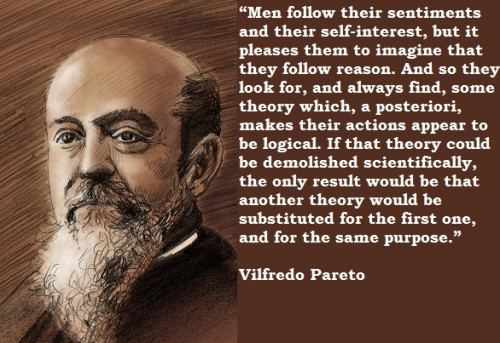 Vilfredo Pareto Quotes