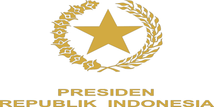 Lambang Presiden Republik Indonesia | Indonesian Presidential Emblem Gold Logo