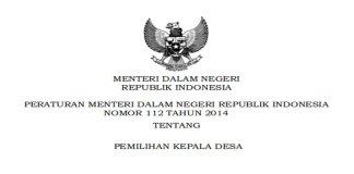 Permendagri Nomor 112 Tahun 2014 Tentang Pilkades