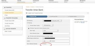 Cara Transfer Internet Banking BRI - Referensi