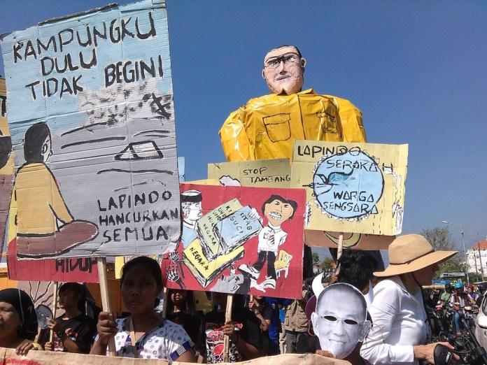 Foto Peringatan 9 Tahun Lumpur Lapindo