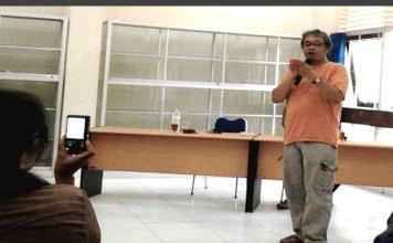 Membincangkan Monolog, Forum Umar Kayam PKKH -UGM bersama Butet Kartaredjasa