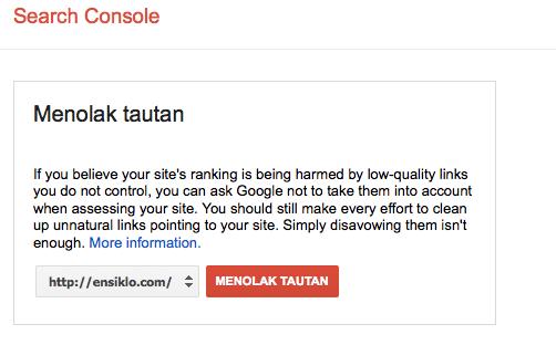 menghapus backlink tidak berkualitas