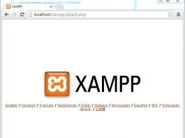 instal xampp di windows