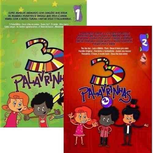 DVDs Infantis 3 Palavrinhas