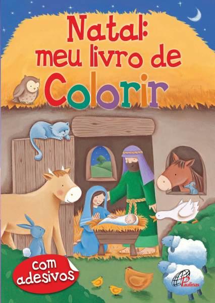 Livro Natal Meu Livro para Colorir