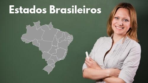 lista em ordem alfabetica siglas dos estados brasilieros e suas capitais