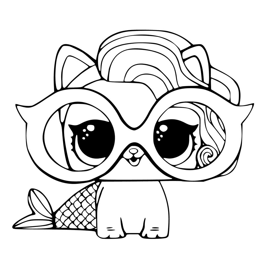 boneca lol pets imprimir colorir