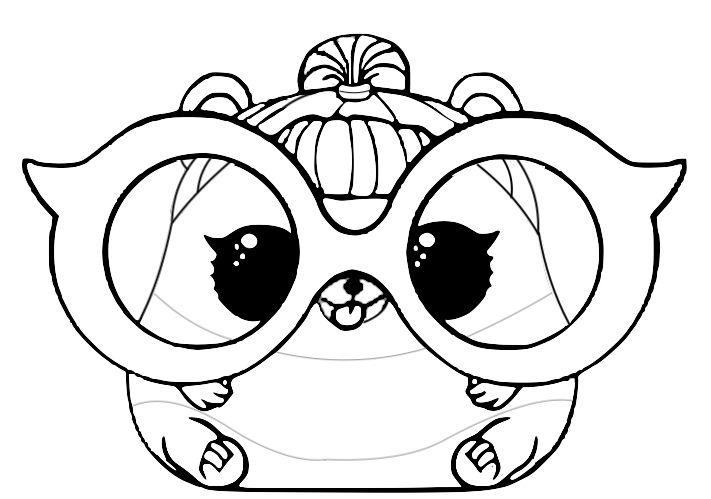 desenho para colorir lol pet