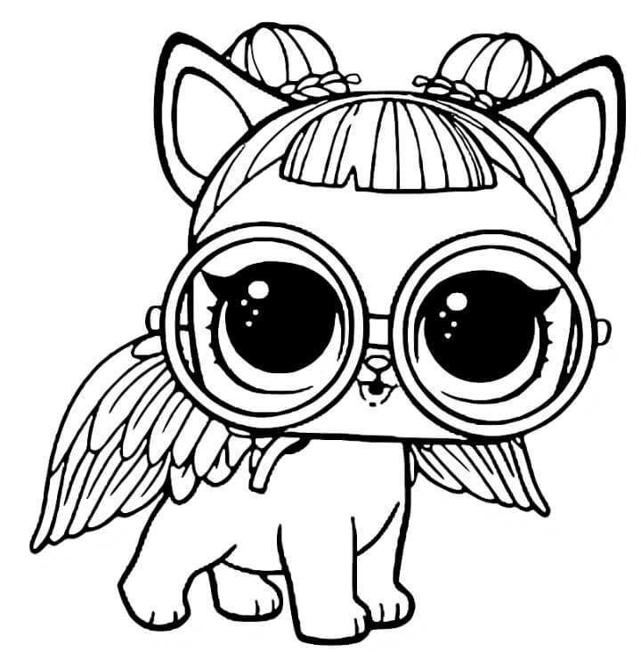 desenho para colorir lol pets