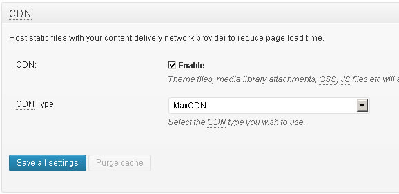 maxcdn connection