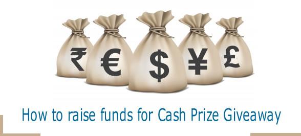 cash prize giveaway
