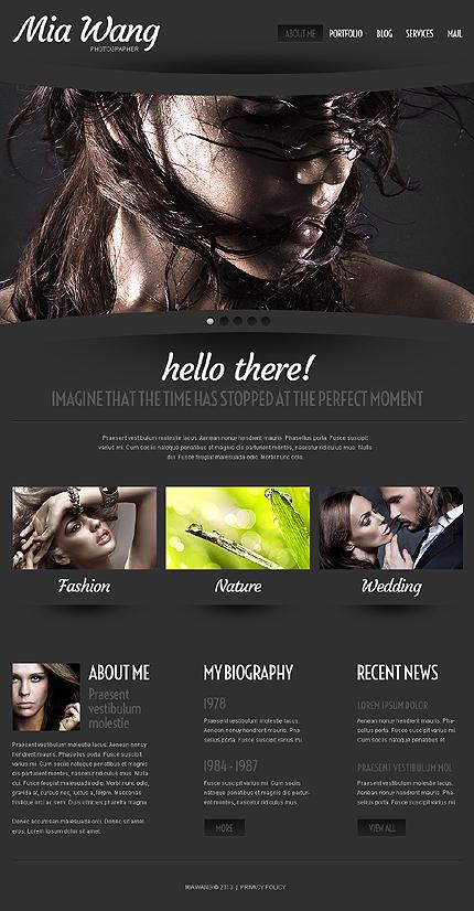 Cherry Photographer Portfolio WordPress Theme