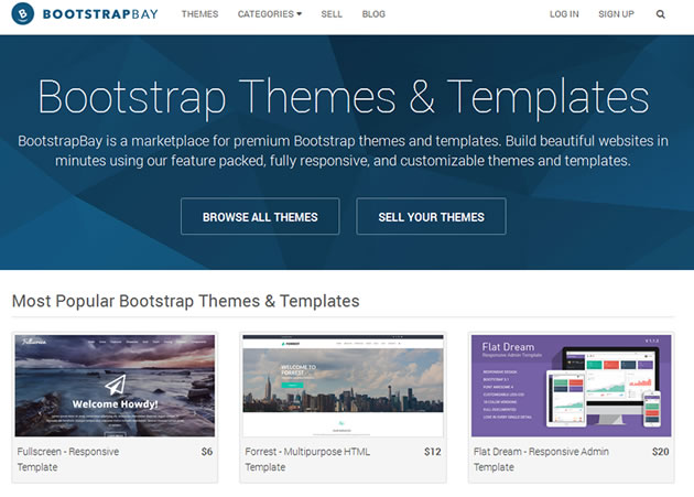 Bootstrap Themes ~ Get Responsive Bootstrap Templates!