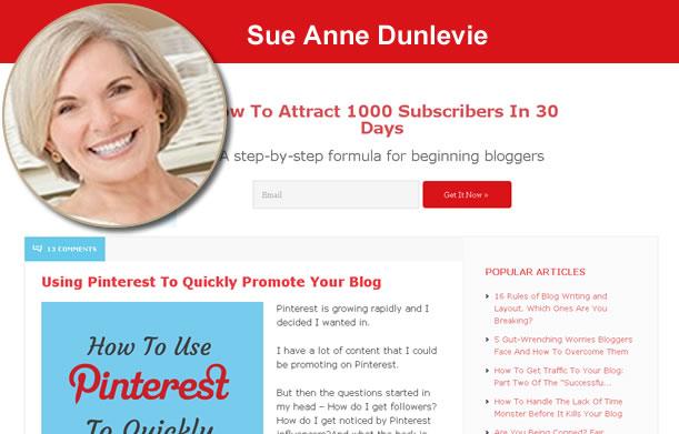 Sue Anne Dunlevie