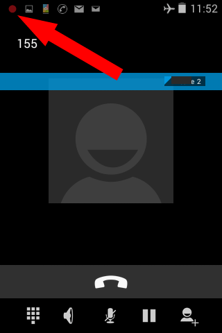 Call recorder for Android app