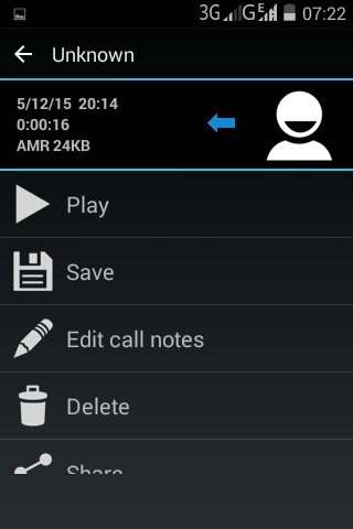 android call recorder most recent calls save