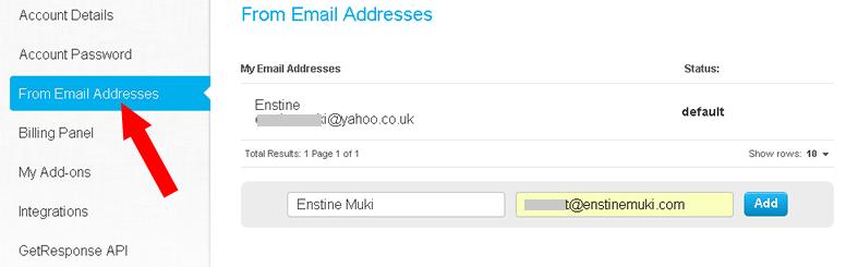 getresponse settings 1