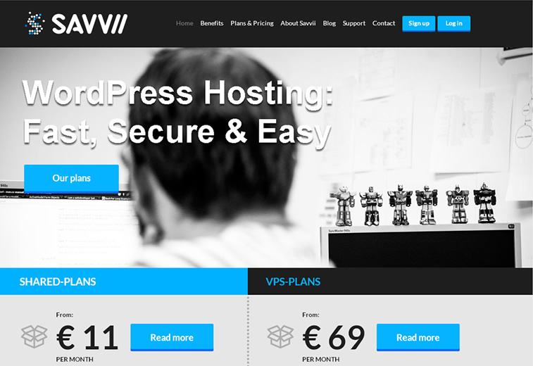 savvii managed wp hosting