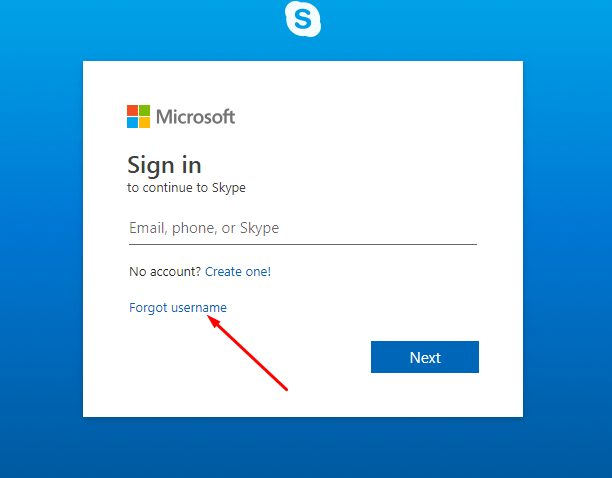 how to retrieve skype password