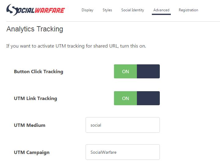 social warfare tracking