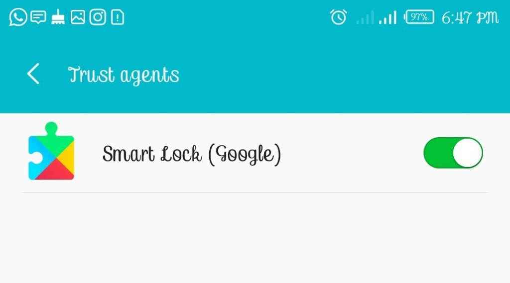 android smart lock