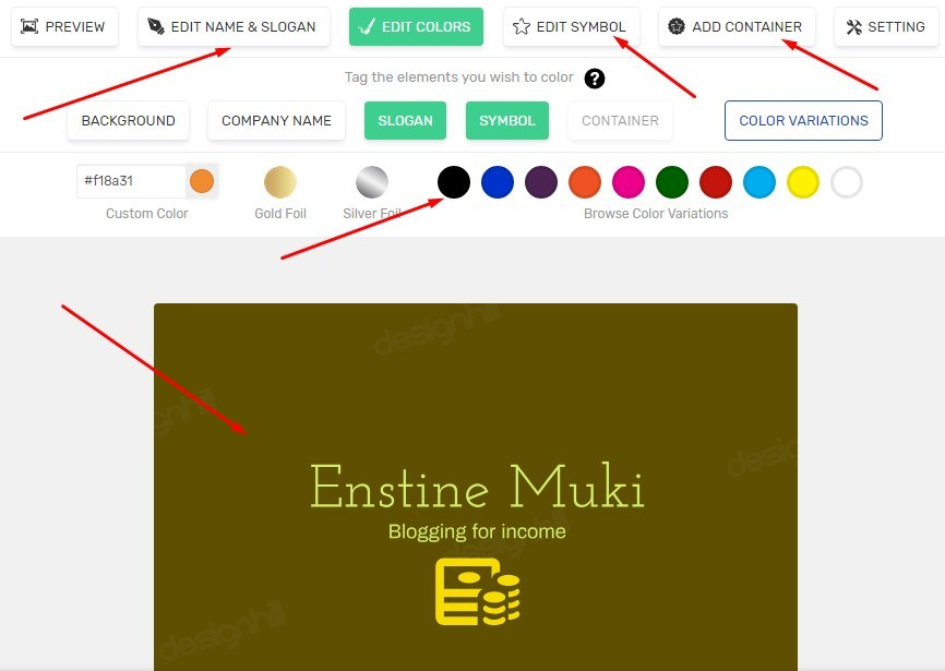 How To Create Pro Logos With Designhill Logo Maker Ai Logo Maker