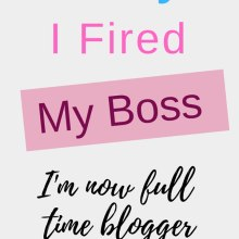 why I fired my boss
