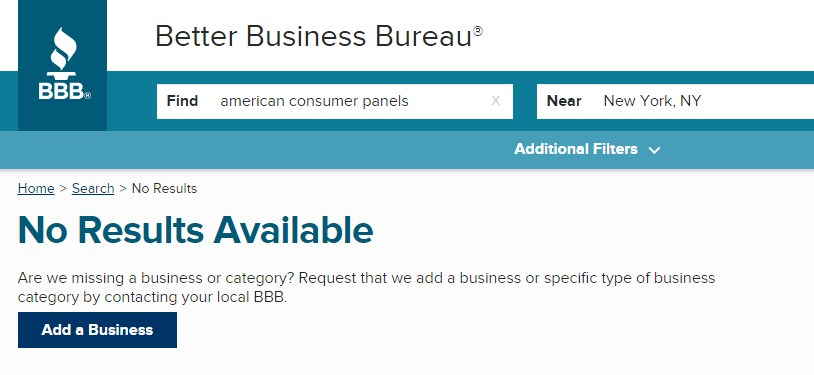 American Consumer Panels review