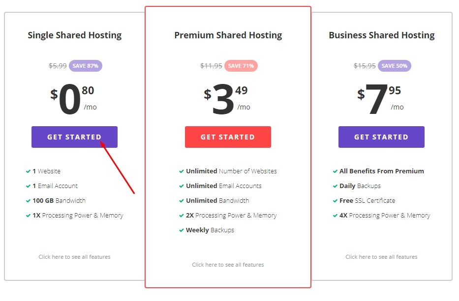 buy webhosting with ethereum