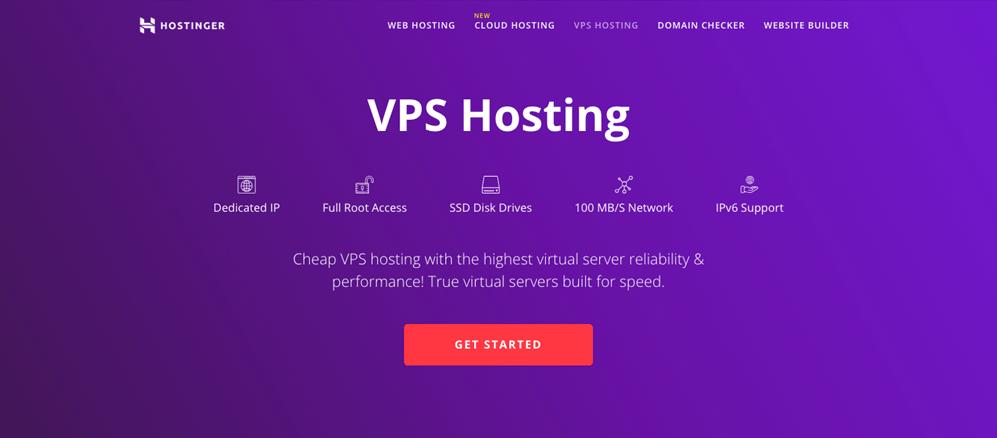 hostinger review vps hosting