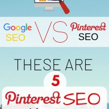google SEO vs Pinterest SEO for traffic