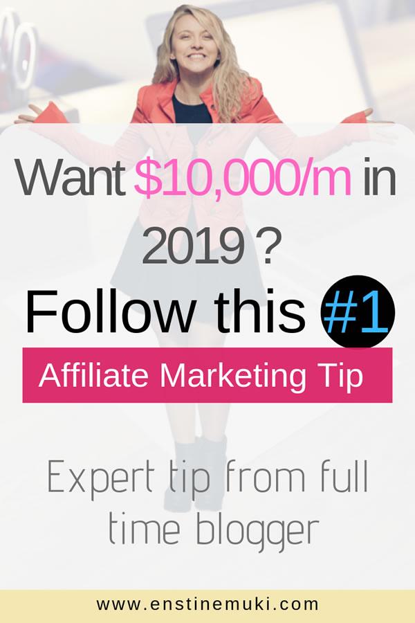 increase affiliate marketing income