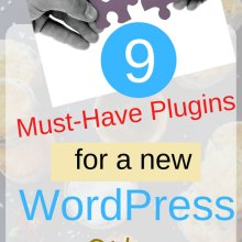 must-have plugins for a new wordpress site